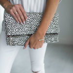 foldover clutch, leopard print, snow leopard print, fall fashion 2016, shopstylecollective, style collective, girlboss